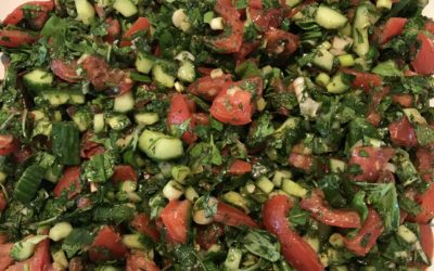 Middle Eastern Veggie Salad