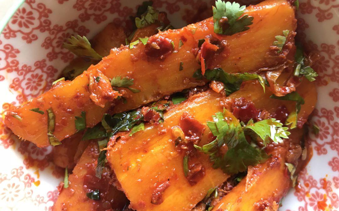 Harissa Carrots