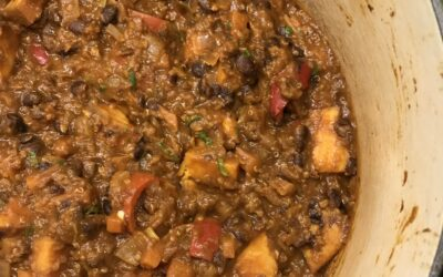 Sweet Potato and Quinoa Chilli