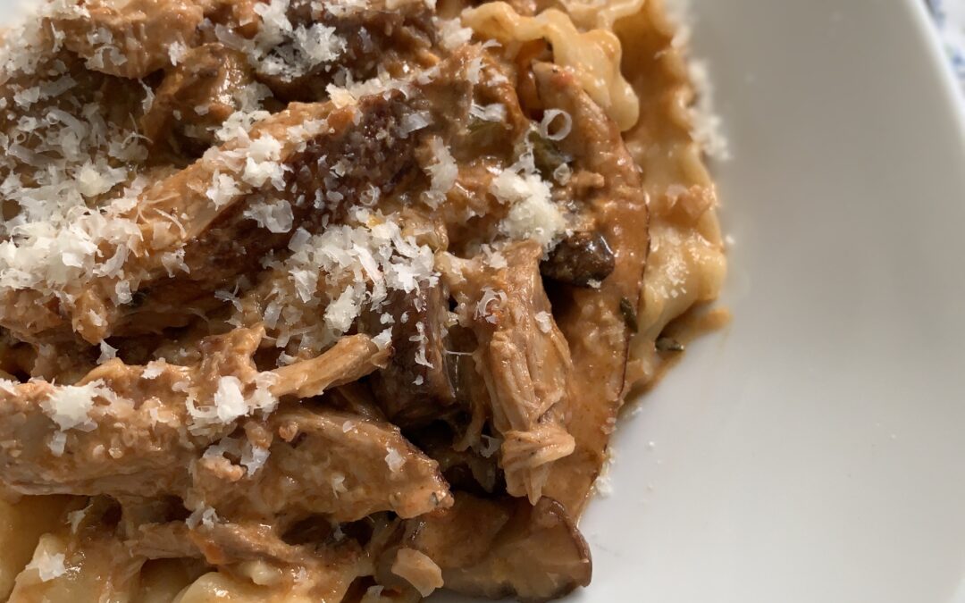 Pheasant and Chestnut Ragu with Pappardelle