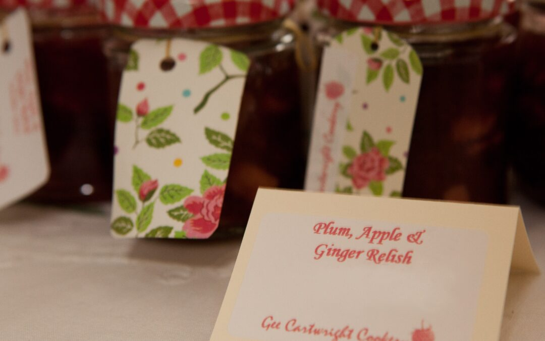 SPICED PLUM, APPLE AND GINGER RELISH